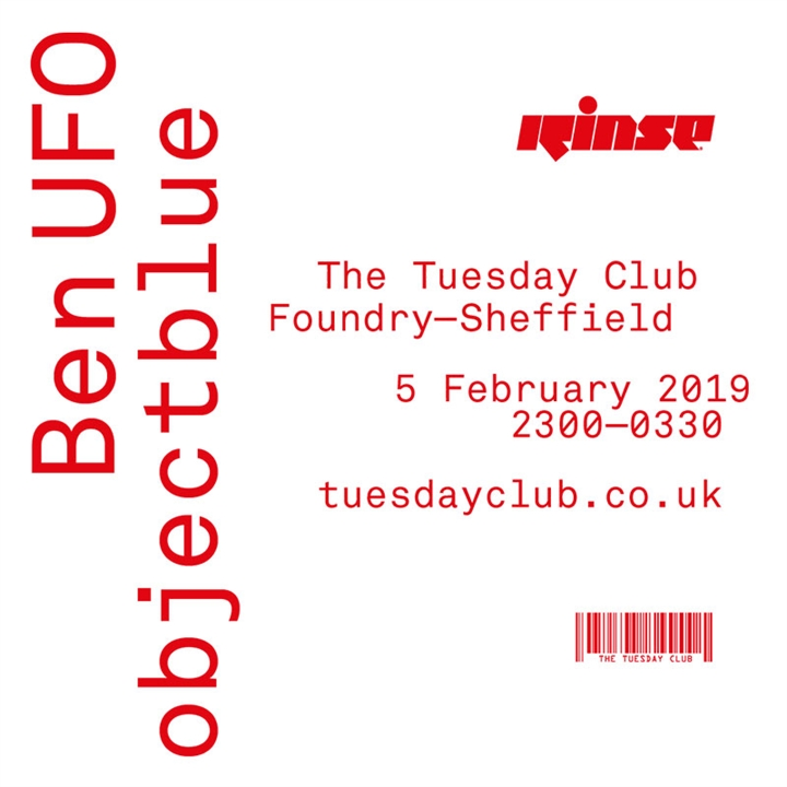 The Tuesday Club & Rinse FM Presents: Ben UFO