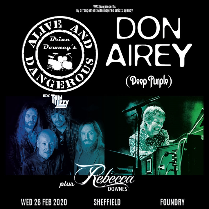 Brian Downey (Thin Lizzy) & Don Airey (Deep Purple) - CANCELLED