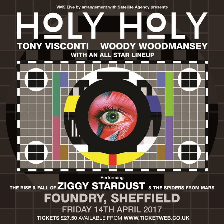 HOLY HOLY performing The Rise & Fall of Ziggy Stardust & The Spiders from Mars