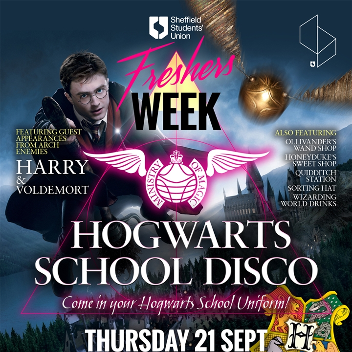 The Ministry Of Magic Hogwarts School Disco
