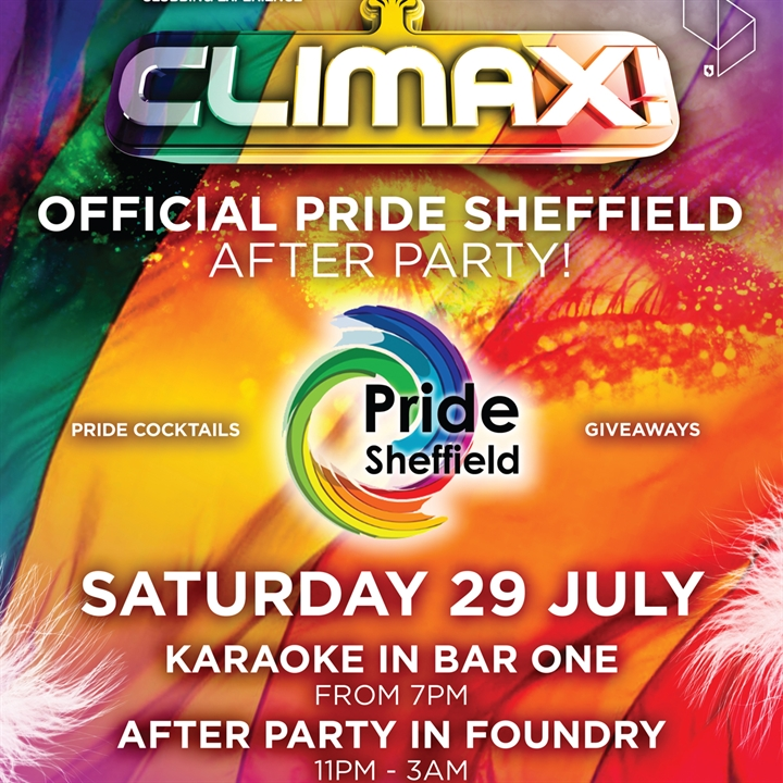 Climax - Official Pride Sheffield Afterparty!