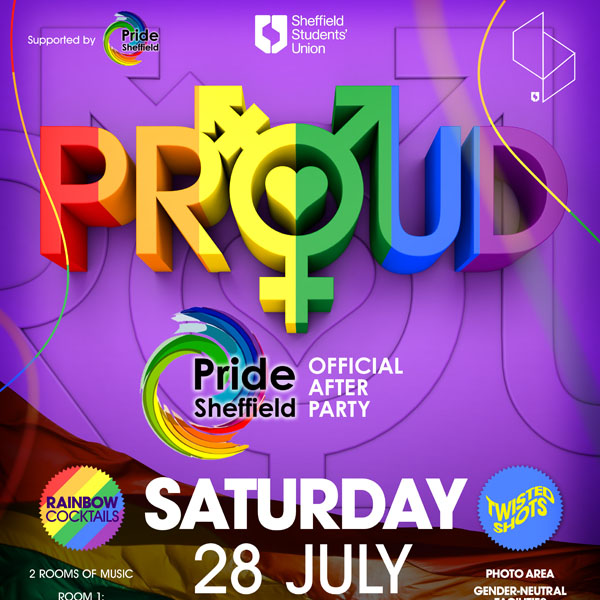 Proud - Pride Sheffield Official Afterparty