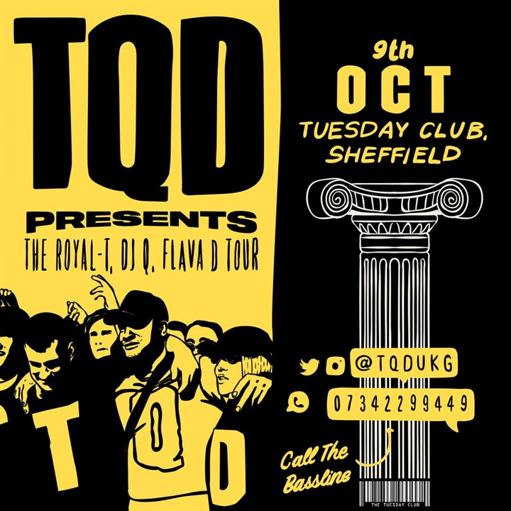 TQD presents: the royal-t, dj q, flava d tour