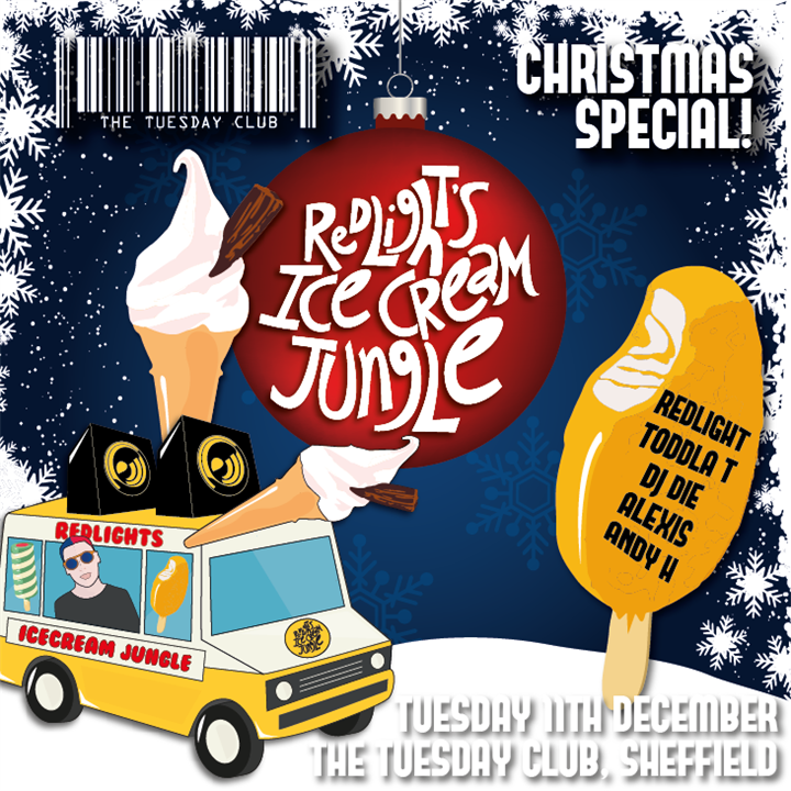 Redlight's Ice Cream Jungle Xmas Special
