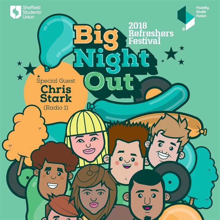 Big Night Out 2018 - With Chris Stark!