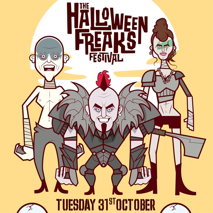 Halloween Freaks Festival 2017 - SOLD OUT